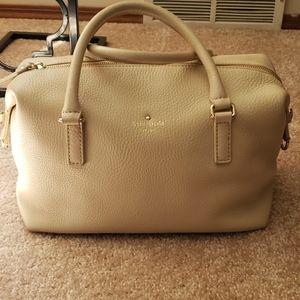 Kate Spade Cream Leather handbag / Satchel